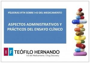 MINICURSO-ASPECTOS ADMINISTRATIVOS Y PRÁCTICOS DEL ENSAYO CLÍNICO-WEB