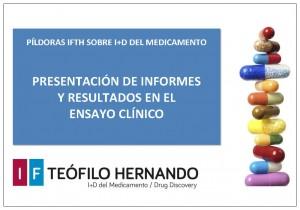 MINICURSO-PRESENTACIÓN DE INFORMES Y RESULTADOS EN EL ENSAYO CLÍNICO-WEB