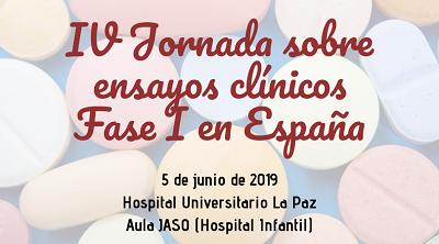 IV Jornada sobre ensayos clínicos Fase I en España-400