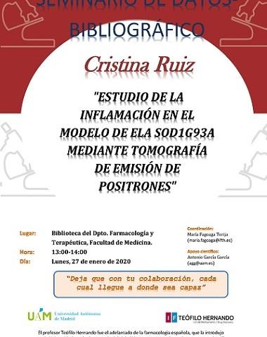 Cartel SEDITH-Cristina Ruiz-380