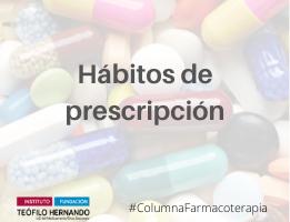 Hábitos de prescripción