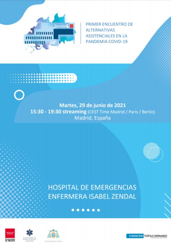 cartel-encuentro alternativas asistenciales COVID-19