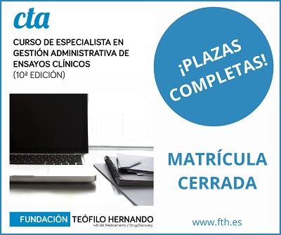 MATRÍCULA CERRADA CTA-10-400